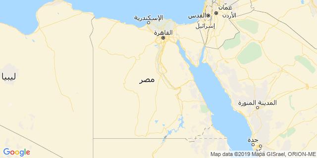 خريطة دولة مصر