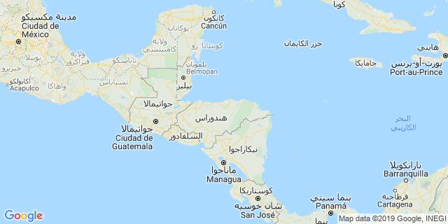 خريطة دولة هندوراس
