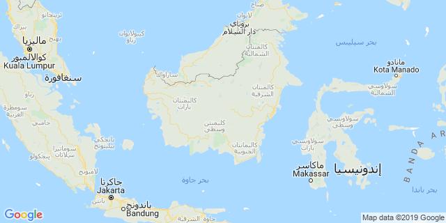 خريطة دولة إندونيسيا
