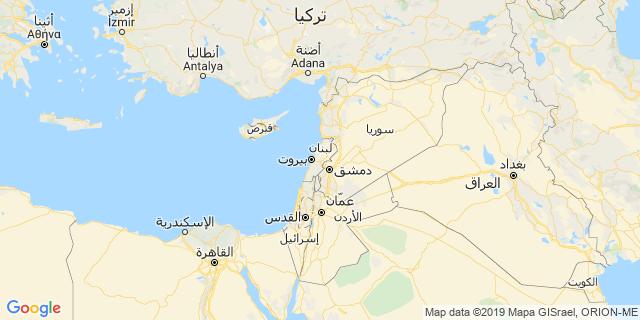 خريطة دولة لبنان