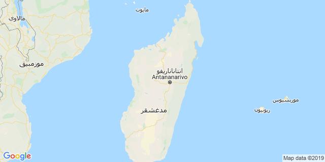 خريطة دولة مدغشقر