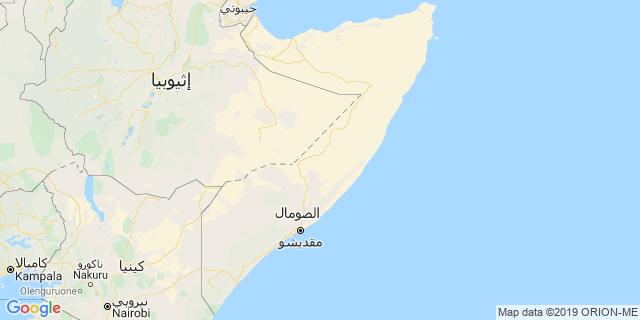 خريطة دولة الصومال