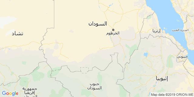 خريطة دولة السودان