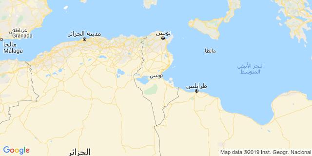 خريطة دولة تونس