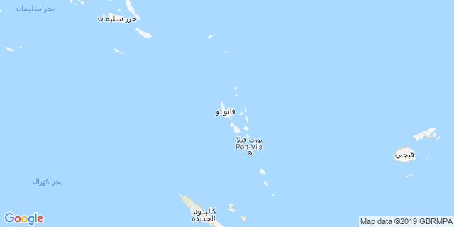 خريطة دولة فانواتو