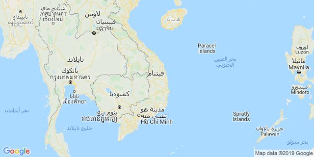 خريطة دولة فيتنام